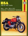 BSA A50 & A65 Twins Haynes Manual (62 - 73)